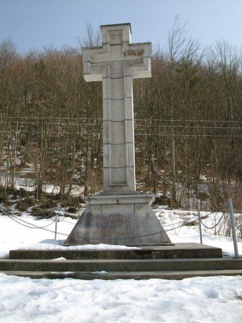 Croix du col du Frêne