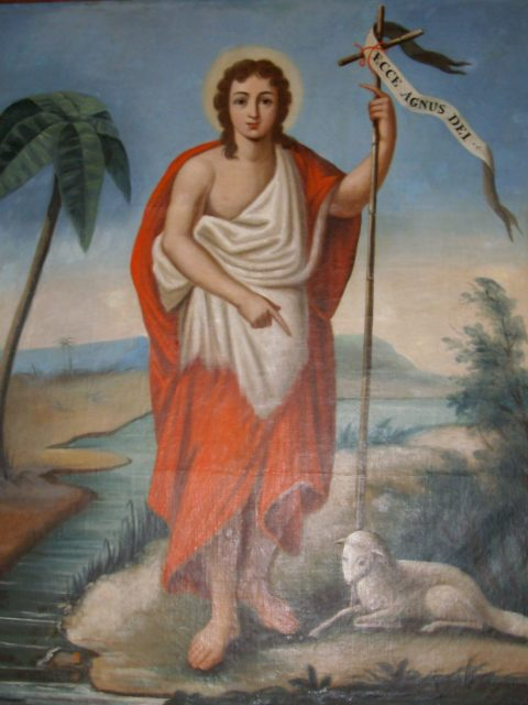 Reproduction de Saint-Jean-Baptiste
