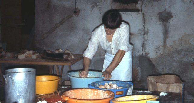 Préparation de la pâte à matafans